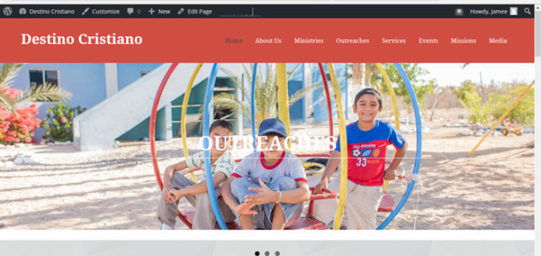 La Paz Church Website Goes Live